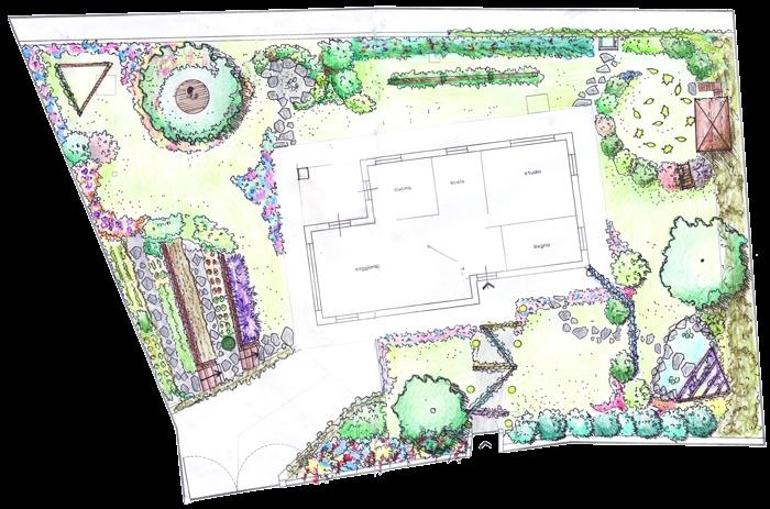 Perfect per un progetto di un giardino occorre molta for Laghetto balneabile progetto