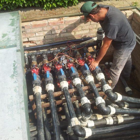Aggiornamento impianto idrico