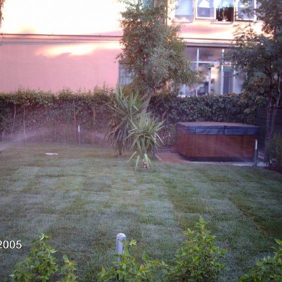 Prato in rotoli ed impianto di irrigazione